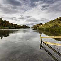 Buy canvas prints of Loch Mire by Reg K Atkinson