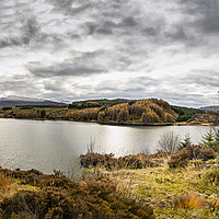 Buy canvas prints of Loch Laggan by Reg K Atkinson