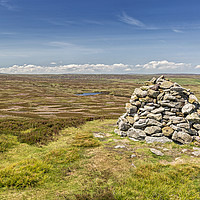 Buy canvas prints of Buckshott Fell and Northumberland by Reg K Atkinson