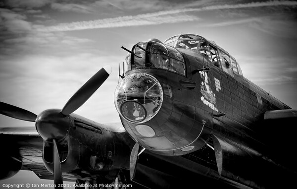 Lancaster Framed Print by Ian Merton