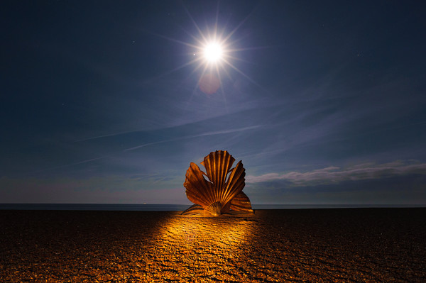 The Scallop Canvas Print by Nick Rowland