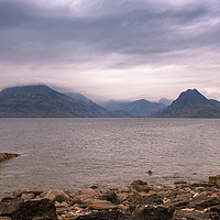 Buy canvas prints of The Black Cuillins by Nick Rowland