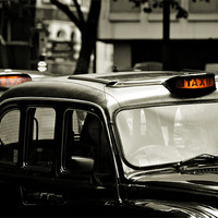 Buy canvas prints of London Taxi by steve ullathorne