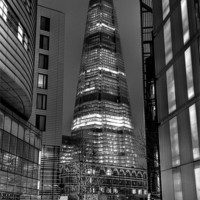 Buy canvas prints of The Shard - London by Alice Gosling