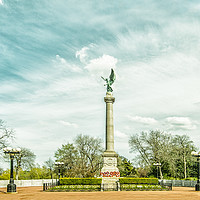 Buy canvas prints of Sunderland War Mermorial by andrew blakey
