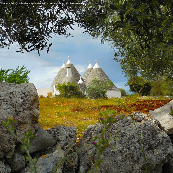 Trulli Framed Mounted Print by Salvatore Valente