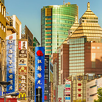 Buy canvas prints of Nanjing Road, Shanghai, China by Daniel Ferreira-Leite