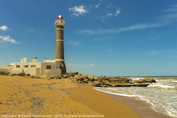 Jose Ignacio Lighthouse and the Beach Canvas print by Daniel Ferreira-Leite
