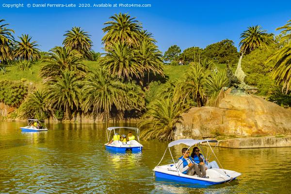 Lake Park, Parque Rodo, Montevideo, Uruguay Print by Daniel Ferreira-Leite