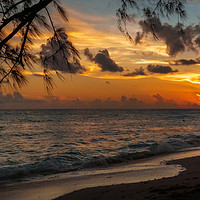 Buy canvas prints of Sunset on Paradise by Garvin Hunter