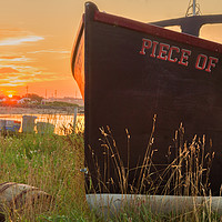 Buy canvas prints of John's Cove at Sunrise by Garvin Hunter