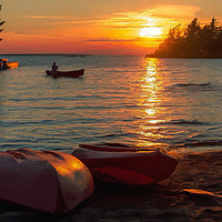 Buy canvas prints of Canadian Cottage Life by Garvin Hunter