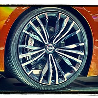 Buy canvas prints of Nissan Sports Car by Garvin Hunter