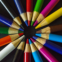 Buy canvas prints of Colour Wheel by Garvin Hunter