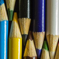 Buy canvas prints of Coloured Pencils  by Garvin Hunter