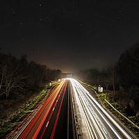 Buy canvas prints of Starry Highway by Craig Doogan