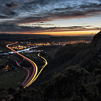 Buy canvas prints of Kinnoull Hill View by Craig Doogan