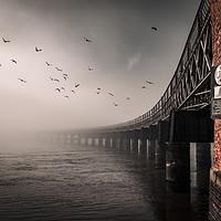 Buy canvas prints of Tay Rail Bridge Dundee by Craig Doogan