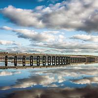Buy canvas prints of Tay Rail Bridge - Dundee by Craig Doogan