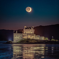 Buy canvas prints of Eilean Donan Moonscape by Craig Doogan