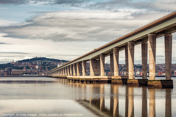 Dundee City Canvas Print by Craig Doogan