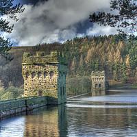 Buy canvas prints of Howden Dam by Pete Biggin