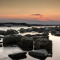 Buy canvas prints of Black nab sunrise by Pete Biggin