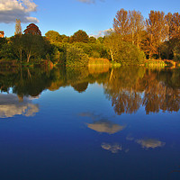 Buy canvas prints of Lake View by Jeremy Hayden