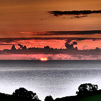 Buy canvas prints of Look at This Beatiful Sunrise in Teignmouth by Jeremy Hayden