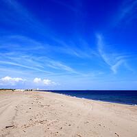 Buy canvas prints of Big Blue Sky over the Mediterranean by Jeremy Hayden