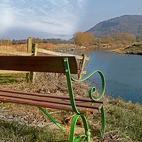 Buy canvas prints of river wye view by paul ratcliffe