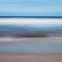 Buy canvas prints of Abstract seashore by Paul Cullen