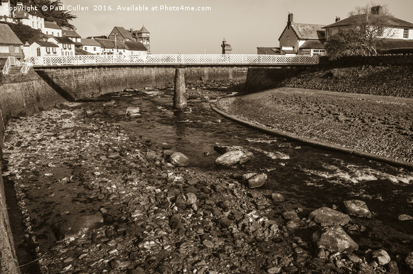 Lynmouth Canvas print by Paul Cullen