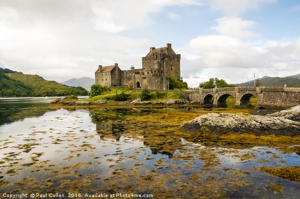 Eilean Donan Castle 2nd September 2015 Canvas Print by Paul Cullen