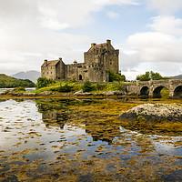 Buy canvas prints of Eilean Donan Castle 2nd September 2015 by Paul Cullen
