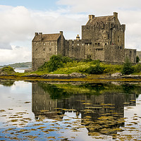 Buy canvas prints of Eilean Donan Castle 2nd September 2015 by Paul Cullen