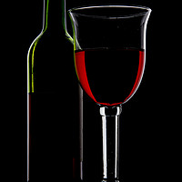 Buy canvas prints of Bottle of Wine and Glass. by Paul Cullen