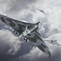 Buy canvas prints of Vulcan Scramble by Steve de Roeck