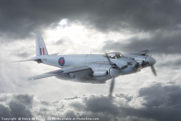 de Havilland Mosquito Bomber   2/3 Canvas print by Steve de Roeck