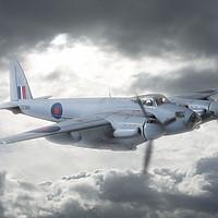 Buy canvas prints of de Havilland Mosquito Bomber   2/3 by Steve de Roeck