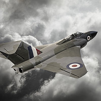 Buy canvas prints of Gloster Javelin All Weather Fighter by Steve de Roeck