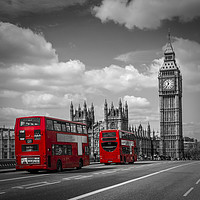 Buy canvas prints of Typical London by Melanie Viola