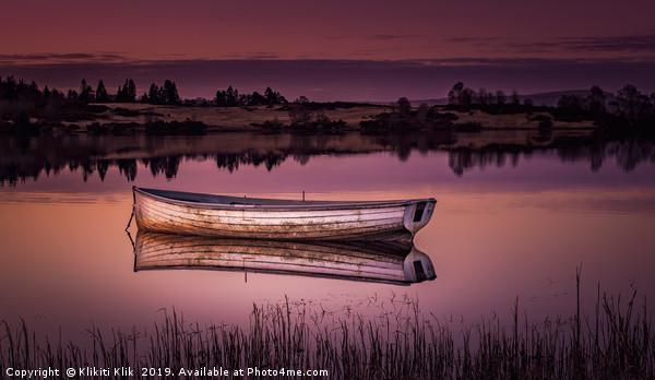Loch Rusky Canvas print by Klikiti Klik