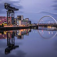 Buy canvas prints of Glasgow by Klikiti Klik