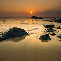 Buy canvas prints of At the dawning of the day by Michael Brookes