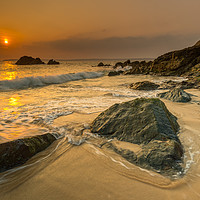 Buy canvas prints of Beautiful at St Ives by Michael Brookes