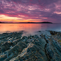 Buy canvas prints of Carrick Roads Sunrise by Michael Brookes