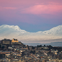 Buy canvas prints of Stirling Castle Just before Sunrise by George Robertson