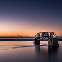 Buy canvas prints of Bridge to Nowhere, Belhaven Bay  by George Robertson