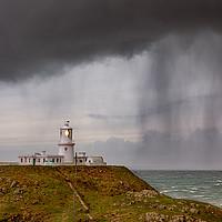 Buy canvas prints of Strumble Head Lighthouse, Pembrokeshire by Dan Santillo